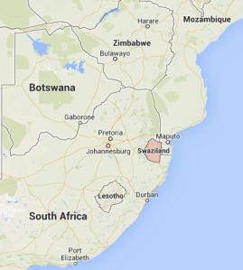 Swaziland, Google Maps, 2013-08-06 at 8.50.16 PM