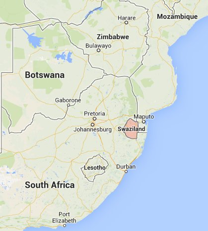 Swaziland, Google Maps, 2013-08-06 at 8.50.16 PM
