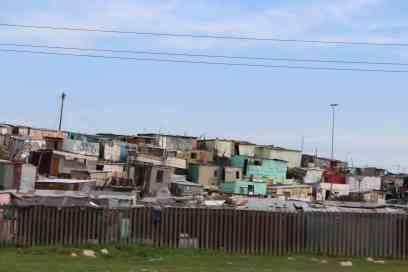 Housing near airport, Capetown